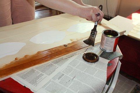 Malowanie skrzyni
