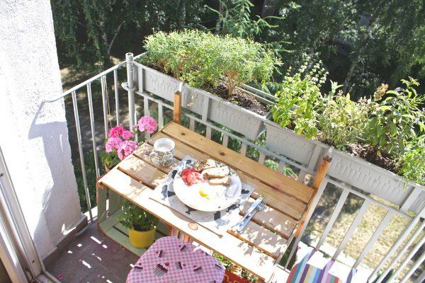 stolik balkon skladany