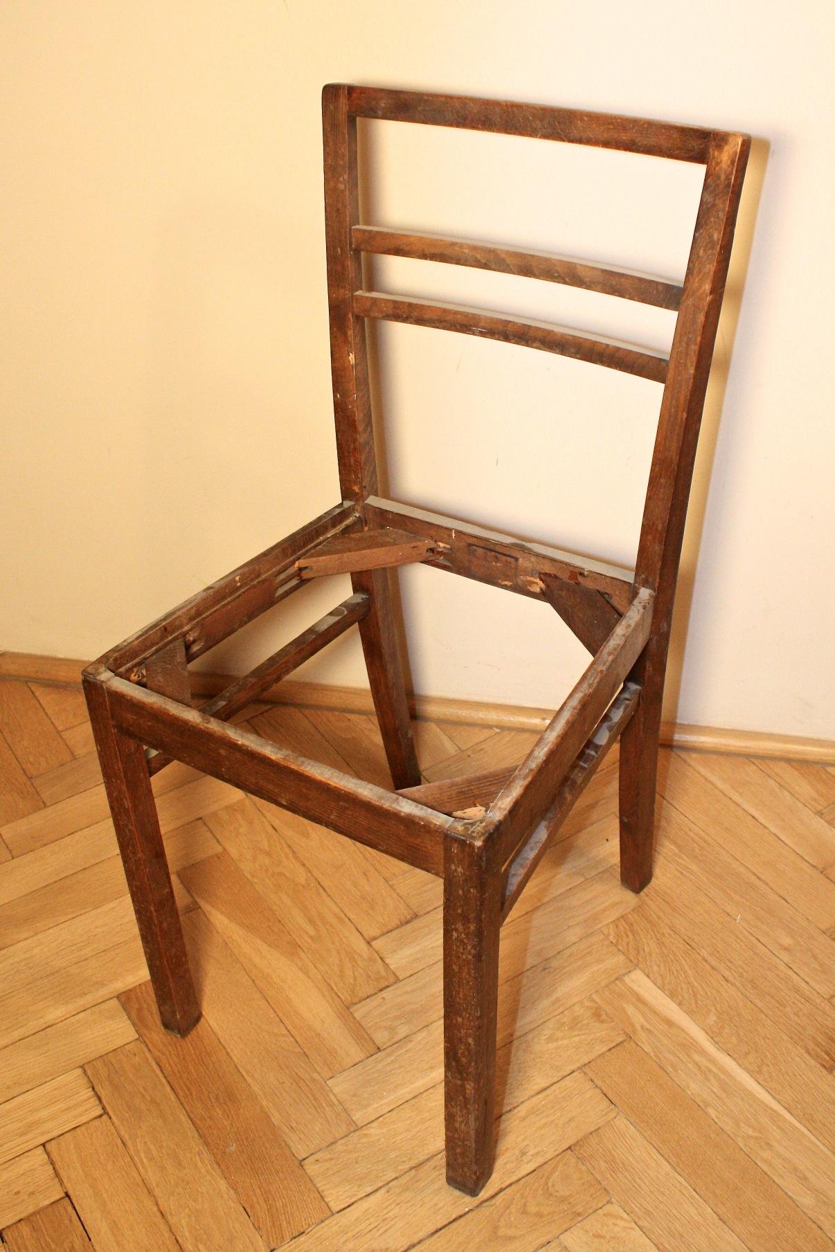 Majsterki Diy Zrób To Sam Jak To Zrobić Krzesło W Spadku