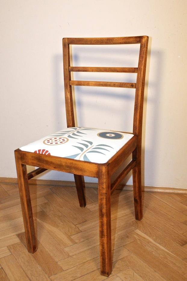 Oodnawiamy krzesło majsterki