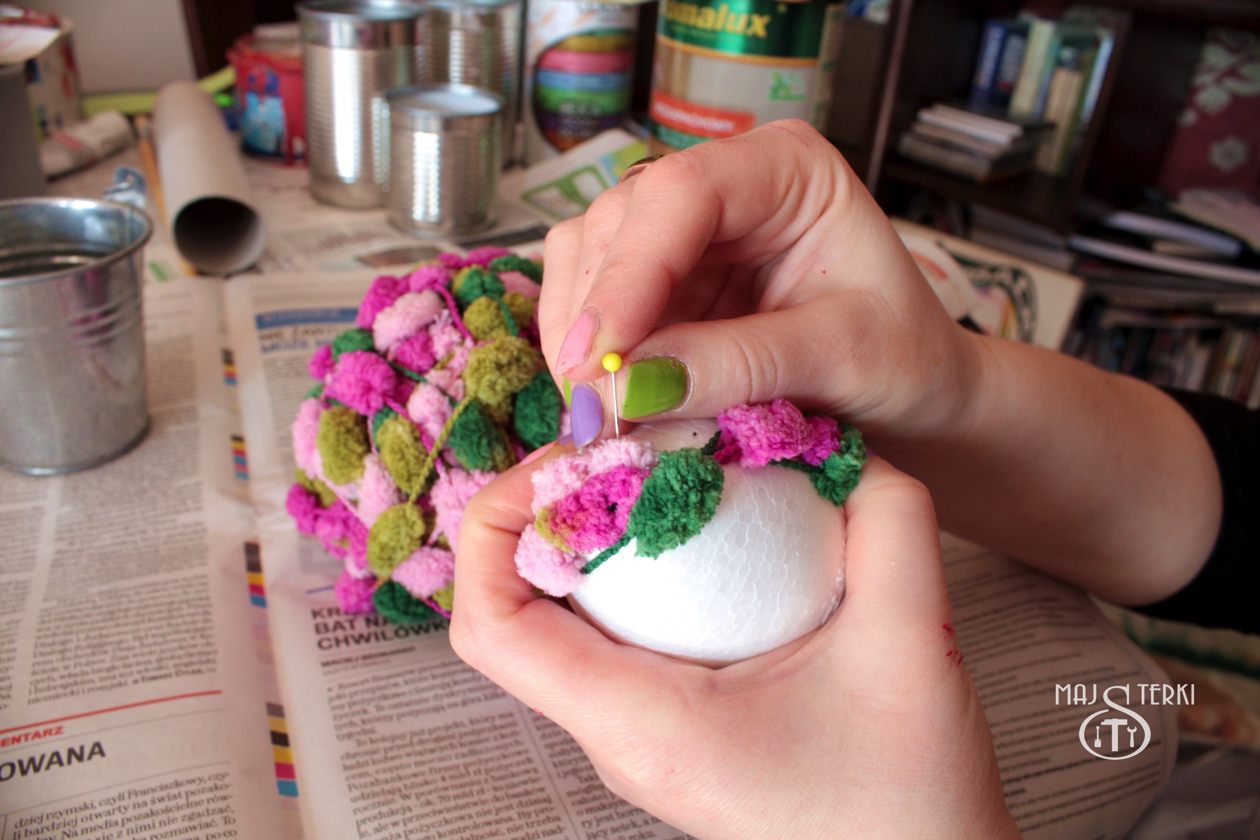 Majsterki Diy Zrób To Sam Jak To Zrobić Kolorowe Wielkanocne Drzewko