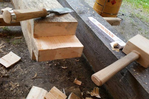 Łączenia drewna
