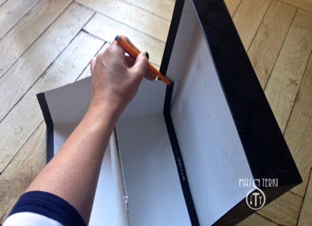 Skrzyneczka z pudełka po butach