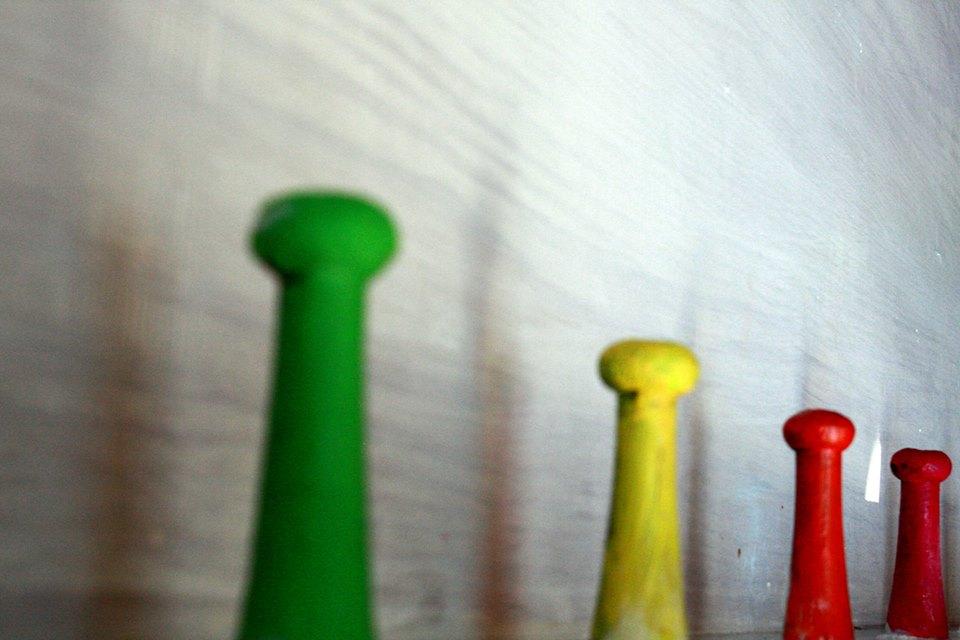 Kolorowe wieszaki