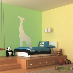 Malowanie pokoju dziecięcego – efekty specjalne