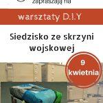 Odnawialnia skrzyń vol. 2 – nowy termin warsztatów