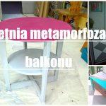 Metamorfoza balkonu w Pokój na Lato. Część 1. malowanie