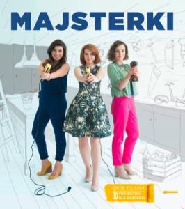 "Okładka książki ""Majsterki"" o DIY"