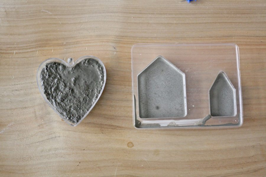 Betonowe ozdoby - test zestawów kreatywnych z Empiku i projekty z książki