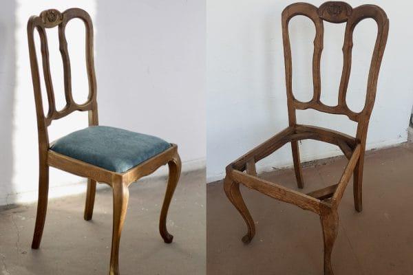 krzeslo renowacja majsterki antyk