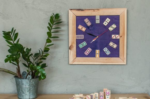 zegar domino majsterki