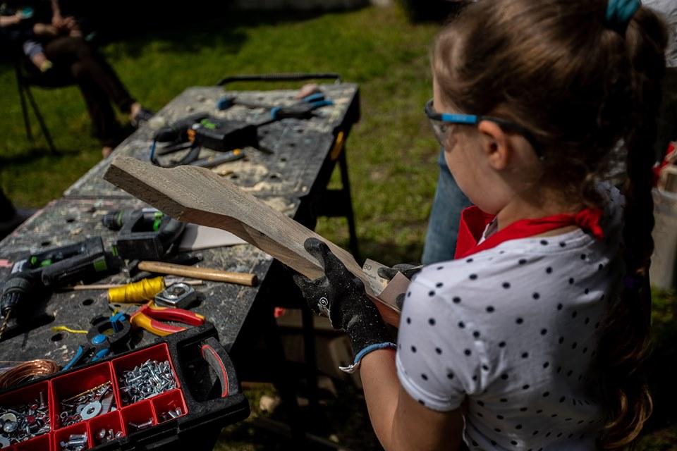 DIY: Dzień dziecka w ogrodzie. Oczywiście majsterkowy!
